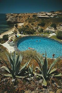 Algarve Hotel Pool - Slim Aarons, 20th century, Coastal Photography, Travel