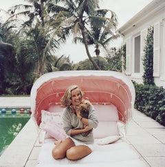 Alice Topping - Slim Aarons, 20th century photography, Hollywood celebrity, Pink