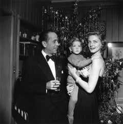 """Bacall & Bogart"" by Slim Aarons, Signed Limited Edition, Silver Gelatin Print"