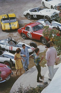 Bahamas Speed Week - Slim Aarons, 20th century photography, Sports cars, Ferrari