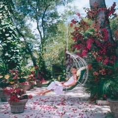 Barbados Bliss - Slim Aarons, 20th Century, Flower Photography, Style Photograph