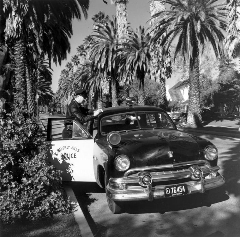 'Beverly Hills Cop' 1952 Slim Aarons Limited Edition Estate Print - Photograph by Slim Aarons