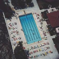 Boca Raton - Slim Aarons, 20th century, Travel photography, Sports, Pool, Swim