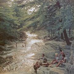 Campbell Falls Picnic - NEW Slim Aarons Estate Edition