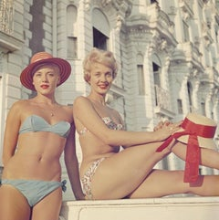 Cannes Cannes Girls (1958) Slim Aarons Limited Estate Print