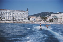 'Cannes Watersports' 1958 Slim Aarons Limited Estate Edition