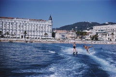 Cannes Watersports, 1958 - Slim Aarons, 20th Century, French Riviera, Blue skies