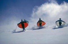 Caped Skiers, 1967 - Slim Aarons, 20th Century, Sports, Holiday, Snow, Winter