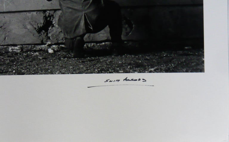 Slim Aarons, 'Chancellery Graffiti' 20 x 24