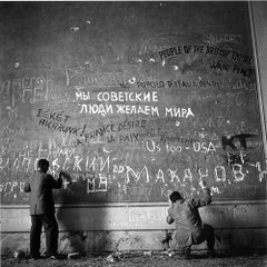 Chancellery Graffiti, (Slim Aarons Estate Edition)