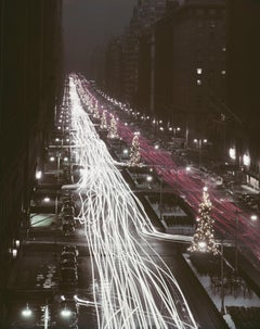 """Christmas Traffic"" by Slim Aarons, NEW, Estate Stamped, Limited, Multiple Sizes"