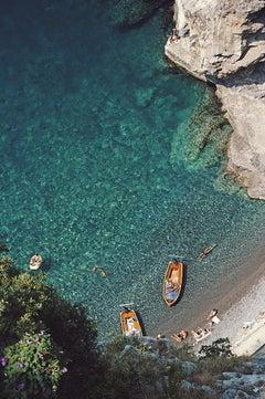 Conca dei Marini - Slim Aarons, 20th century, Italy, Boats, Travel photography