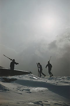 'Cranmore Mountain Skiers' 1955 Slim Aarons Limited Estate Edition