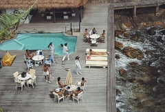 Decking by the Sea - Slim Aarons, 20th century photography, Brazil, 1980