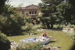 Donna Fabrizia Lanza Di Mazzarino, 1984 (Slim Aarons, 20th Century, Portrait)