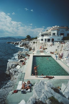 """""""Eden Roc Pool"""" By Slim Aarons, Estate Stamped Limited Edition, Multiple Sizes"""