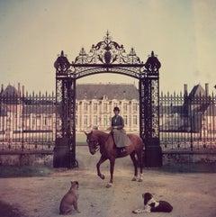 'Equestrian Entrance' 1957 Slim Aarons Limited Estate Edition