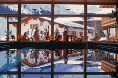 Gasthof Post Pool - Slim Aarons, 20th Century, Winter Sport, Vacation, Landscape