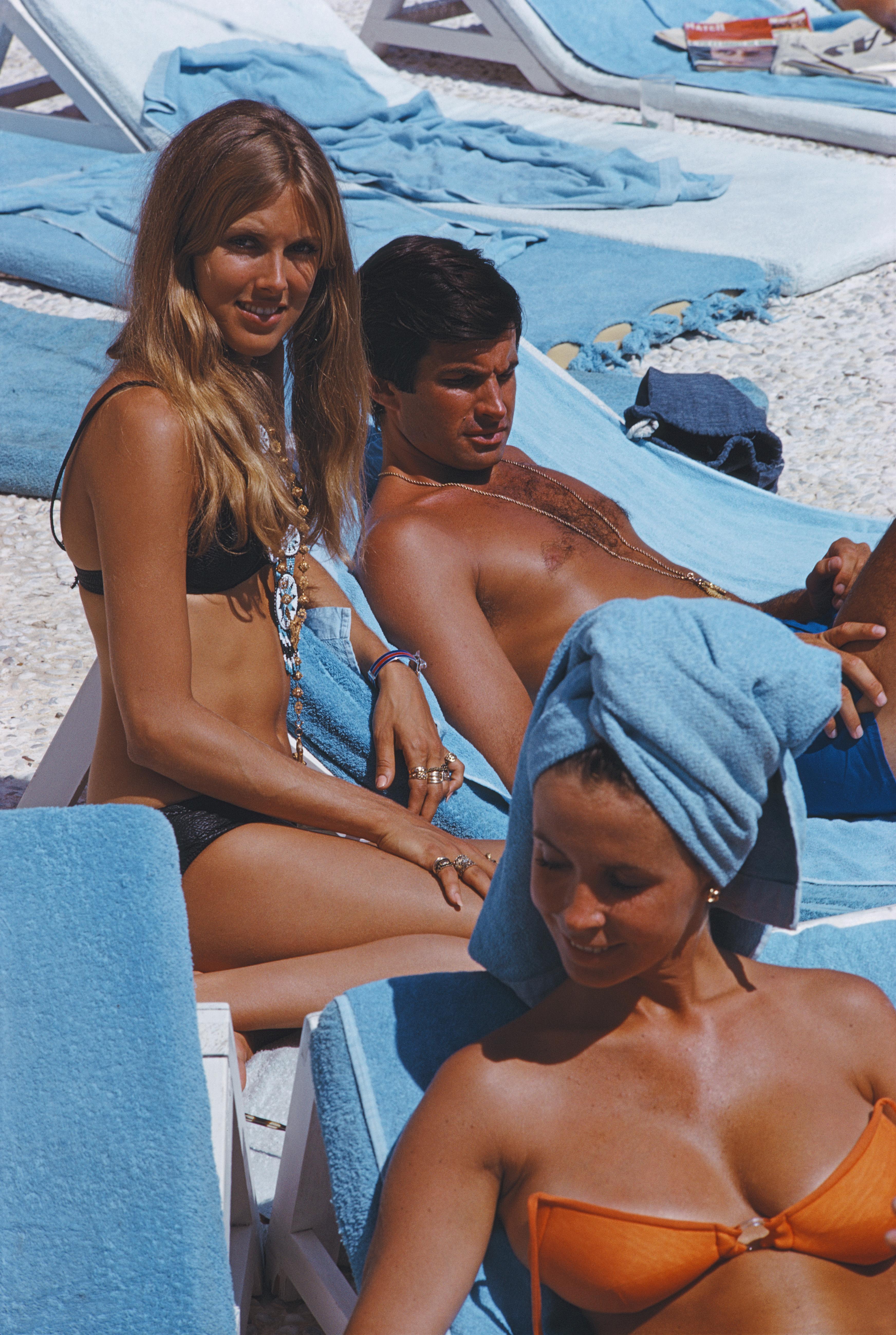 George Hamilton in Capri