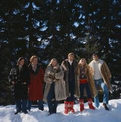 Guests At The Furstenberg Villa (1975) Limited Estate Stamped - Grande XL