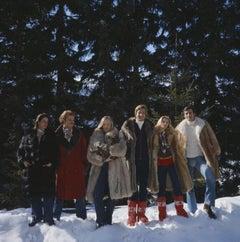 'Guests At The Furstenberg Villa' 1975 Slim Aarons Limited Estate Edition