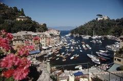 'Harbour Area, Portofino' 1977 Slim Aarons Limited Estate Edition