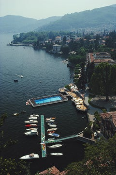 'Hotel On Lake Como' 1983 Slim Aarons Limited Estate Edition