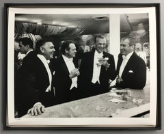 """Kings of Hollywood"" By Slim Aarons, Estate Stamped & Limited, Framed 16x20"""