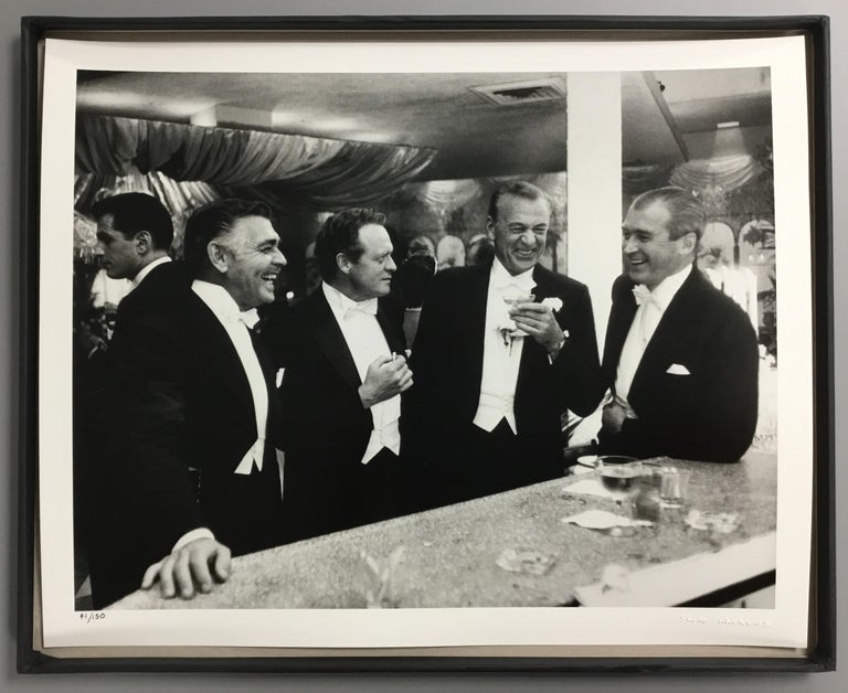 """Kings of Hollywood"" By Slim Aarons, Estate Stamped & Limited, Framed 16x20"" - Photograph by Slim Aarons"