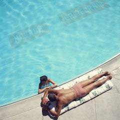 Lake Tahoe Couple, (Slim Aarons Estate Edition)
