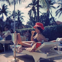Leisure and Fashion, Colony Hotel, Palm Beach, 1954 (Slim Aarons, Open Edition)