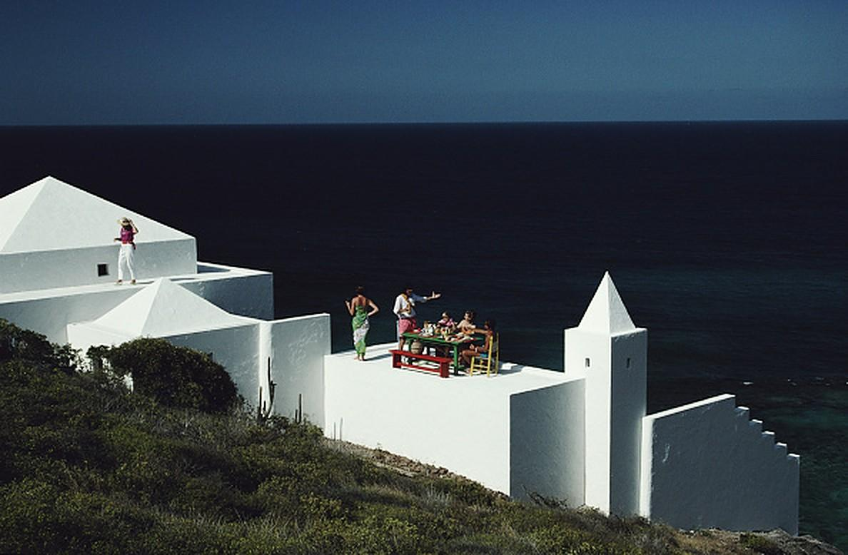 Los Leones, St Barts - Slim Aarons, 20th century, Island, Travel photography