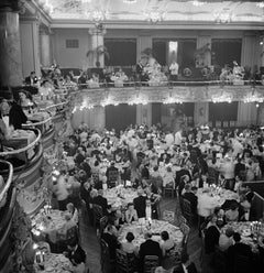 'Luxury Dining' Silver Gelatin Fibre Print - Limited Edition Estate Stamped