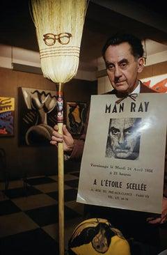 Man Ray in Paris Estate Edition Photograph [Left Bank Surrealist Artist Studio]