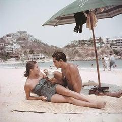Model Friend - Slim Aarons, 20th century photo, Acapulco, Mexico, Jean Adams