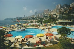 'Monte Carlo Beach Club' 1970 Slim Aarons Limited Estate Edition