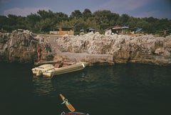 Motorboat at Hôtel du Cap Eden-Roc, Estate Edition Photograph, Antibes, Waterski