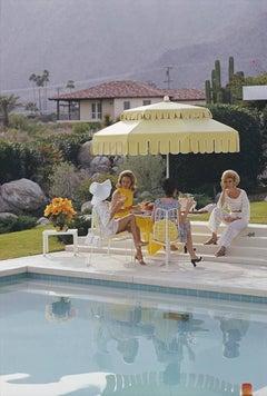 Nelda and Friends, Palm Springs - Slim Aarons, 20th Century, Kaufmann House