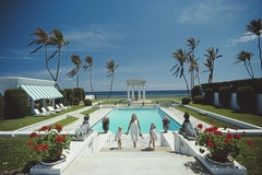 'Neo-Classical Pool'  Slim Aarons Limited Estate Edition