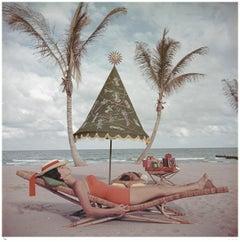 'Palm Beach Idyll' 1955 Slim Aarons Limited Estate Edition