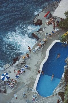 Pool On Amalfi Coast - Slim Aarons, Poolside, Twentieth century photography