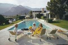 'Poolside Gaze' Slim Aarons Limited Estate Edition