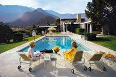 'Poolside Glamour'  1970 Slim Aarons Estate Edition