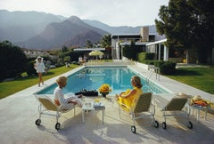 """Poolside Gossip"" By Slim Aarons, Estate Stamped, Edition Nearly Sold Out!"