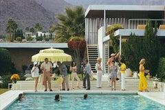 Poolside Host - Slim Aarons, Poolside Gossip, 20th century, Swimming Pool