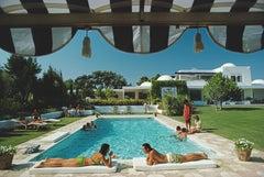 Poolside in Sotogrande - Slim Aarons, 20th century, Spain, Sunlight, Photography