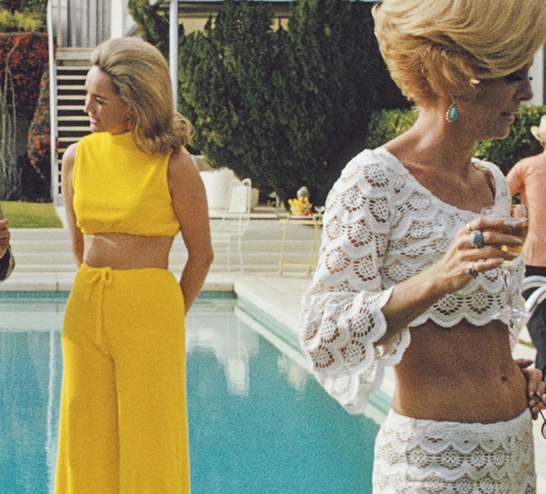 Poolside Party  - Slim Aarons - Estate Edition For Sale 1