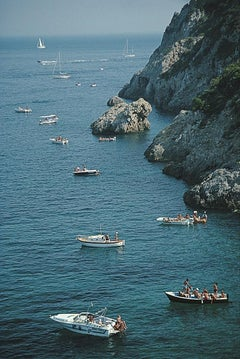 Porto Ercole Boats - Slim Aarons, 20th century, Tuscany, Italy, Pellicano, Beach