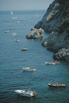 Porto Ercole Boats - Slim Aarons, 20th century, Italy, Travel, Sailing, Sea