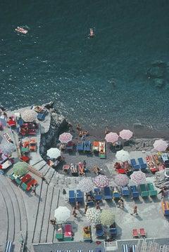 'Positano Beach' 1979 Slim Aarons Limited Estate Edition